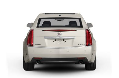 Rear Profile  2008 Cadillac CTS
