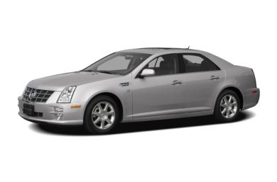 3/4 Front Glamour 2008 Cadillac STS