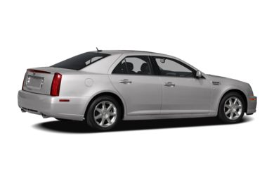 3/4 Rear Glamour  2008 Cadillac STS