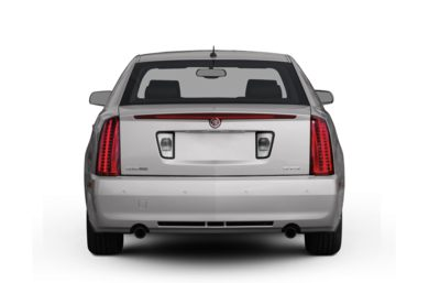 Rear Profile  2008 Cadillac STS
