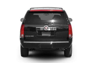Rear Profile  2008 Cadillac Escalade