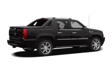 3/4 Rear Glamour  2008 Cadillac Escalade EXT