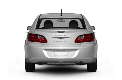 Rear Profile  2008 Chrysler Sebring