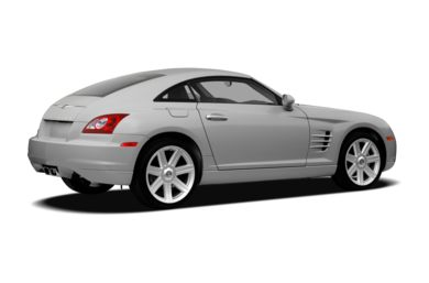 3/4 Rear Glamour  2008 Chrysler Crossfire