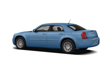 Surround 3/4 Rear - Drivers Side  2008 Chrysler 300