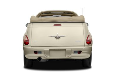 Rear Profile  2008 Chrysler PT Cruiser