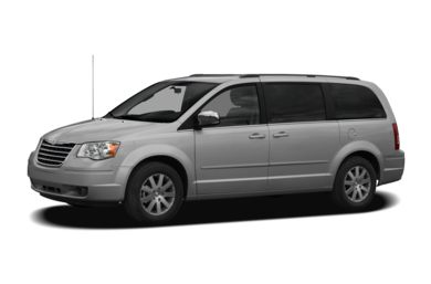 3/4 Front Glamour 2008 Chrysler Town & Country
