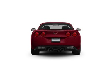 Surround Rear Profile 2008 Chevrolet Corvette