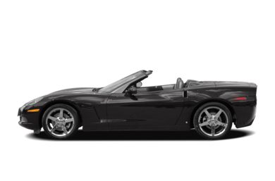 90 Degree Profile 2008 Chevrolet Corvette