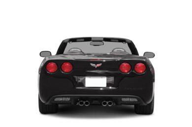 Rear Profile  2008 Chevrolet Corvette
