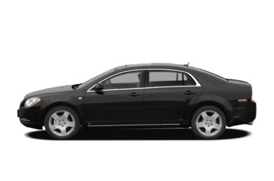 90 Degree Profile 2008 Chevrolet Malibu
