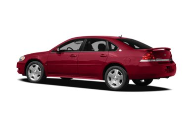 Surround 3/4 Rear - Drivers Side  2008 Chevrolet Impala