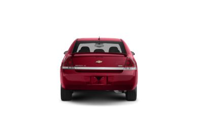 Surround Rear Profile 2008 Chevrolet Impala