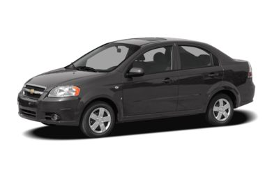 3/4 Front Glamour 2008 Chevrolet Aveo