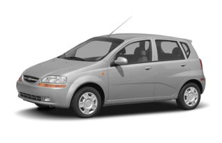 3/4 Front Glamour 2008 Chevrolet Aveo 5