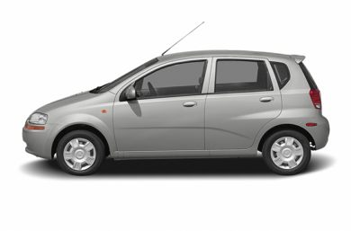 90 Degree Profile 2008 Chevrolet Aveo 5