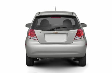 Rear Profile  2008 Chevrolet Aveo 5