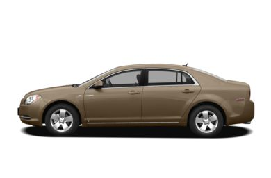 90 Degree Profile 2008 Chevrolet Malibu Hybrid