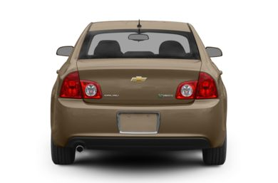 Rear Profile  2008 Chevrolet Malibu Hybrid