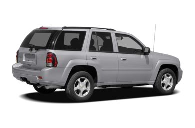 3/4 Rear Glamour  2008 Chevrolet TrailBlazer