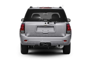 Rear Profile  2008 Chevrolet TrailBlazer
