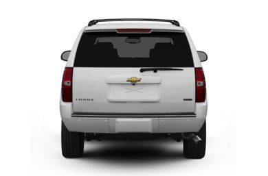 Rear Profile  2008 Chevrolet Tahoe