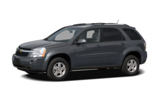 3/4 Front Glamour 2008 Chevrolet Equinox