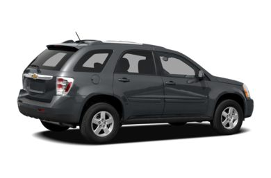 3/4 Rear Glamour  2008 Chevrolet Equinox