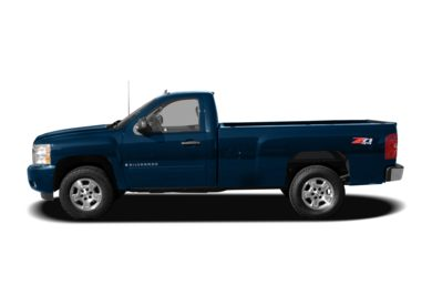 90 Degree Profile 2008 Chevrolet Silverado 1500