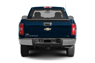 Rear Profile  2008 Chevrolet Silverado 1500