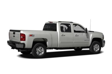 3/4 Rear Glamour  2008 Chevrolet Silverado 2500HD