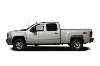 90 Degree Profile 2008 Chevrolet Silverado 2500HD