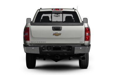Rear Profile  2008 Chevrolet Silverado 2500HD