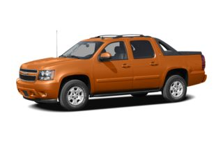 3/4 Front Glamour 2008 Chevrolet Avalanche 1500