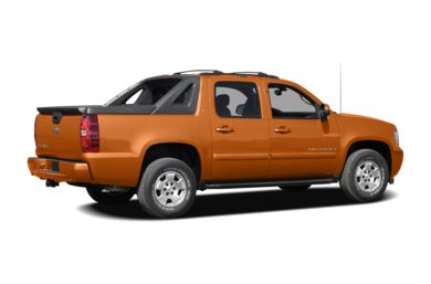 3/4 Rear Glamour  2008 Chevrolet Avalanche 1500