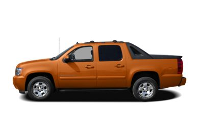 90 Degree Profile 2008 Chevrolet Avalanche 1500