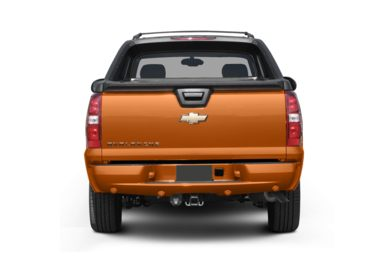 Rear Profile  2008 Chevrolet Avalanche 1500