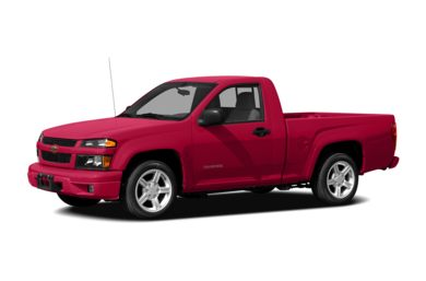 3/4 Front Glamour 2008 Chevrolet Colorado