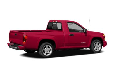 3/4 Rear Glamour  2008 Chevrolet Colorado