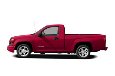 90 Degree Profile 2008 Chevrolet Colorado
