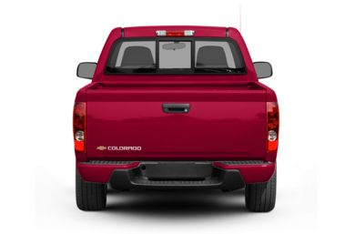 Rear Profile  2008 Chevrolet Colorado
