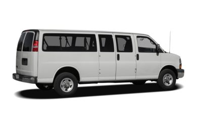 3/4 Rear Glamour  2008 Chevrolet Express