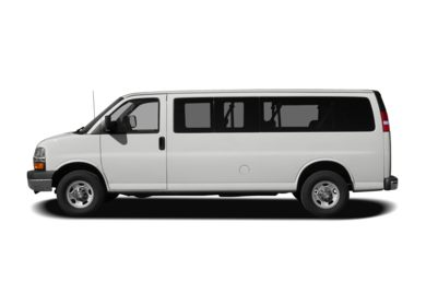 90 Degree Profile 2008 Chevrolet Express