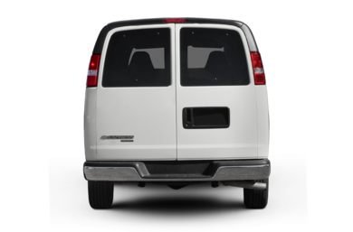 Rear Profile  2008 Chevrolet Express
