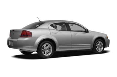 3/4 Rear Glamour  2008 Dodge Avenger