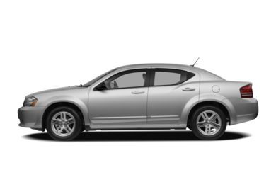 90 Degree Profile 2008 Dodge Avenger