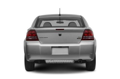 Rear Profile  2008 Dodge Avenger