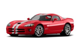 3/4 Front Glamour 2008 Dodge Viper