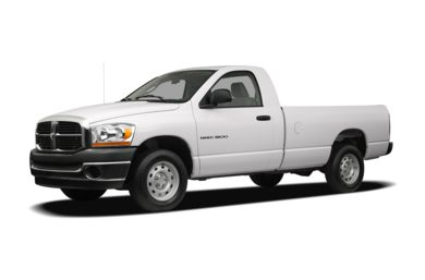 3/4 Front Glamour 2008 Dodge Ram 1500