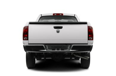 Rear Profile  2008 Dodge Ram 1500